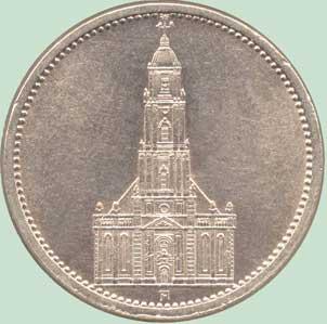 Военная кирха в г. Потсдаме, построенная Ф. Герлахом в 1735 г.