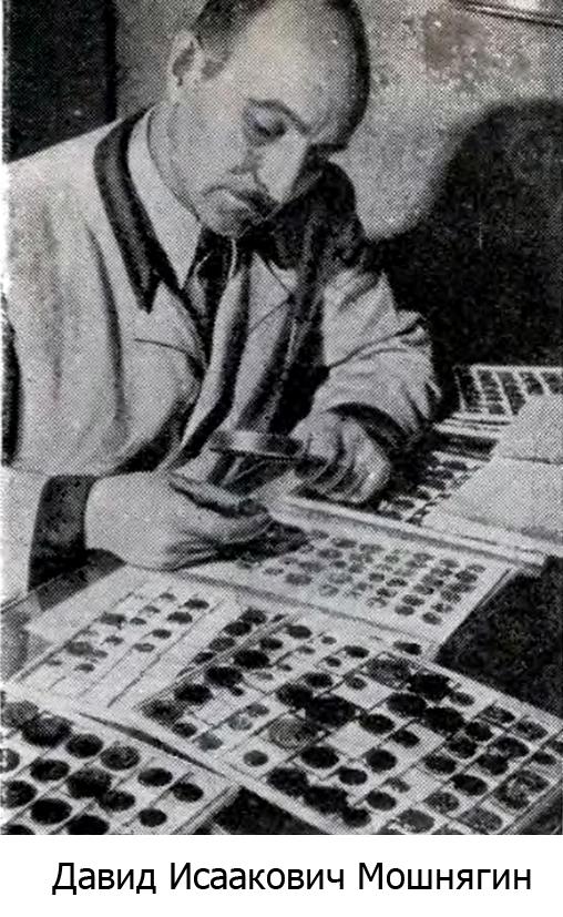 Коллекционер Мошнягин Давид Иссакович
