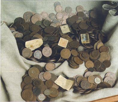 Клад из д.Черневичи, Барановичский район, ок.1918, найден в 1970-е гг